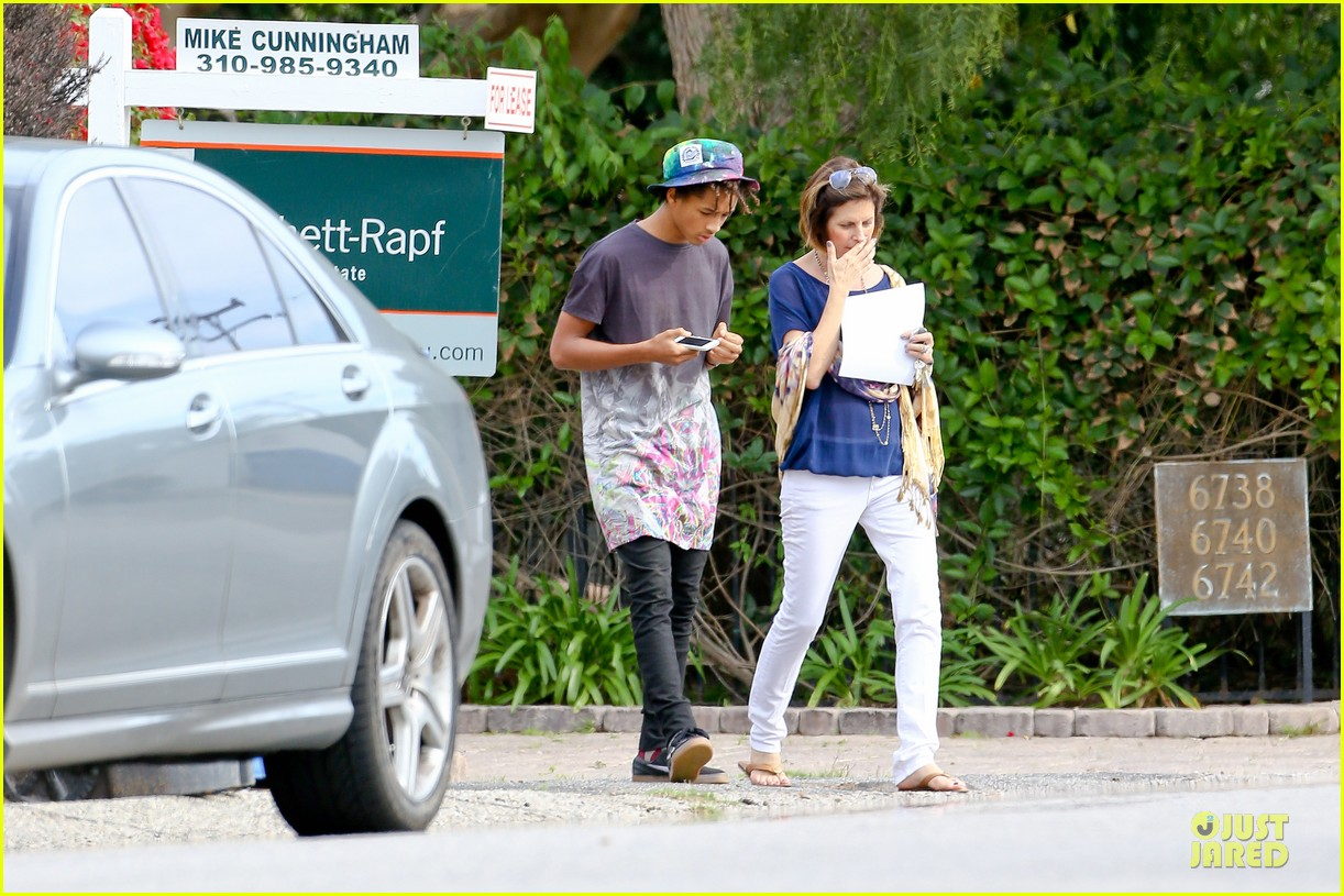 kendall kylie jenner meet up with super excited jaden smith 07