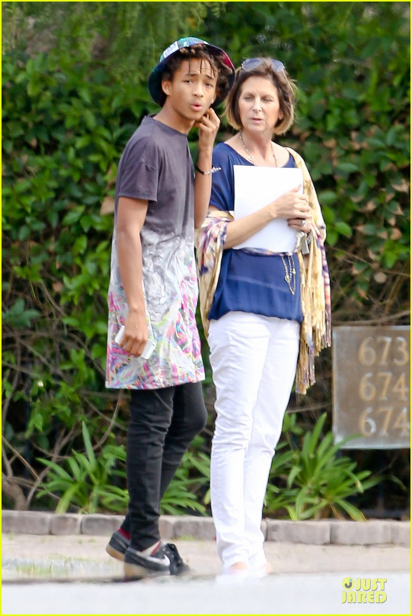 kendall kylie jenner meet up with super excited jaden smith 093072201