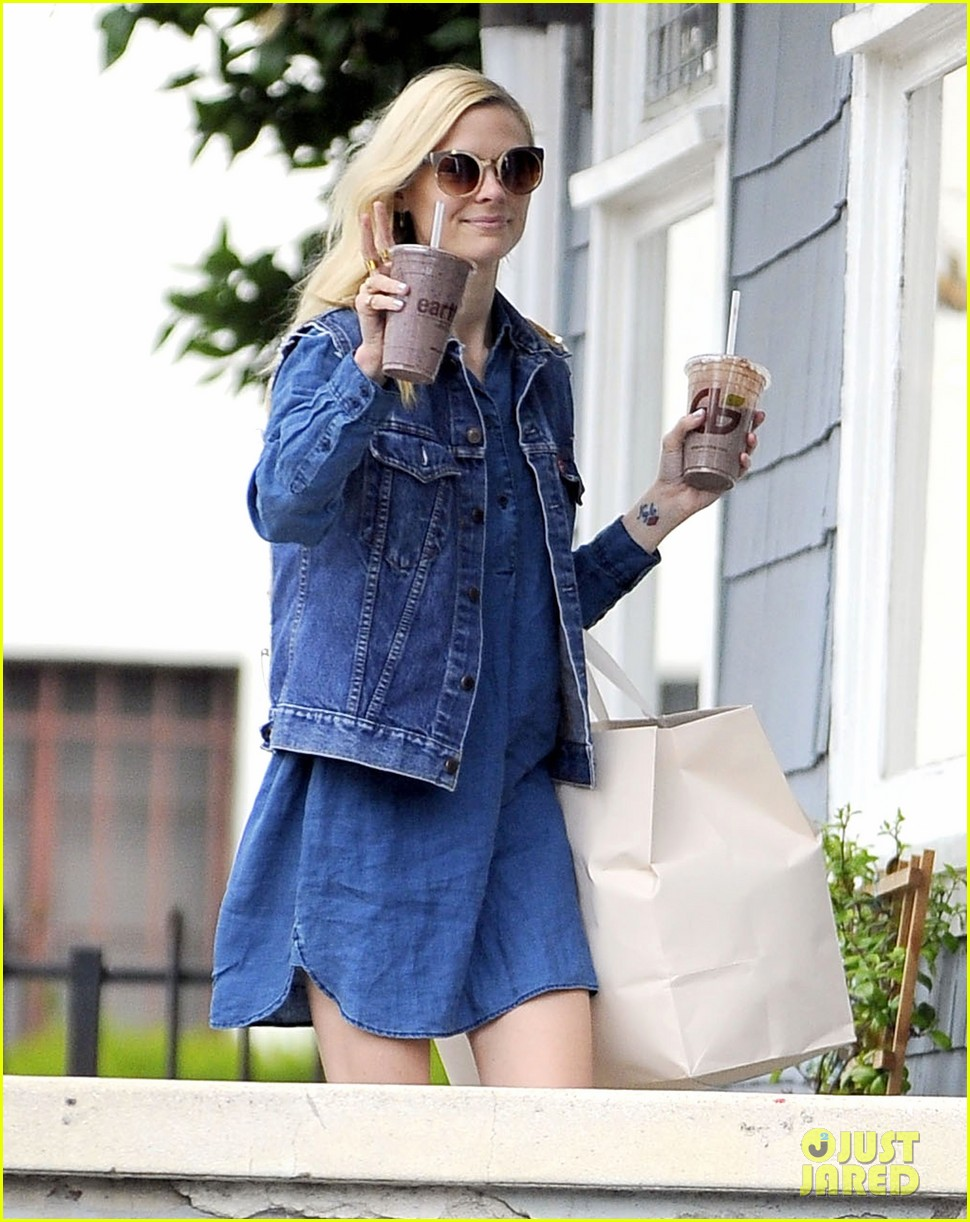 jaime king goes for an all denim look in weho 04