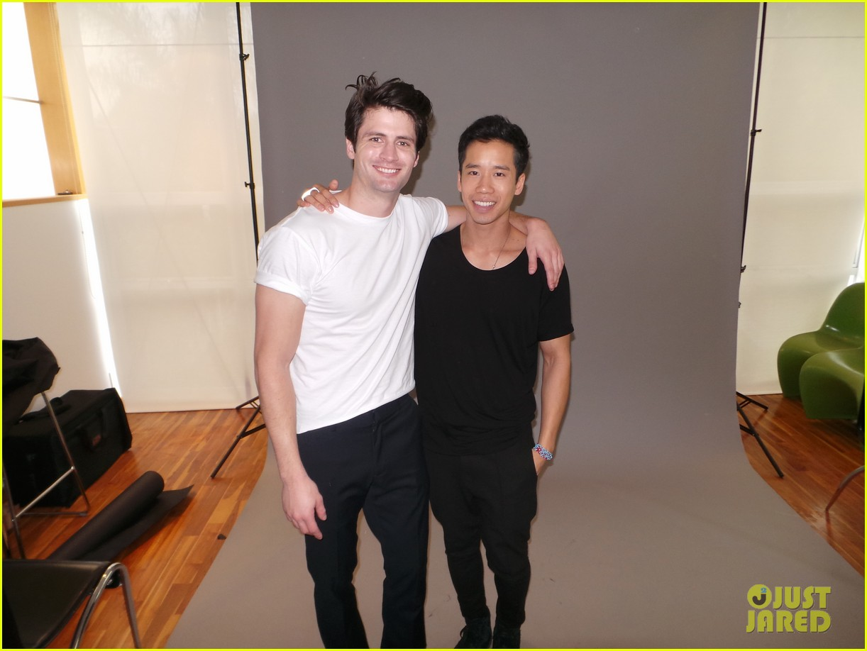 james lafferty jj spotlight behind the scenes pics exclusive 02