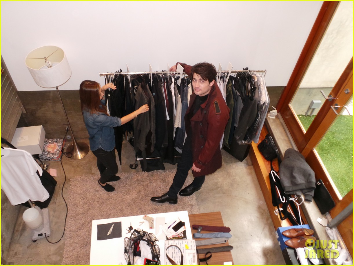 james lafferty jj spotlight behind the scenes pics exclusive 10