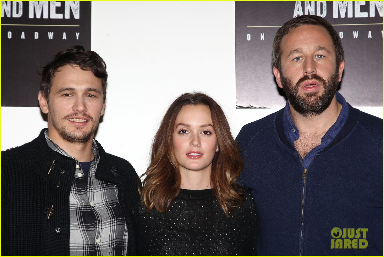 leighton meester james franco of mice men broadway preview 233067181