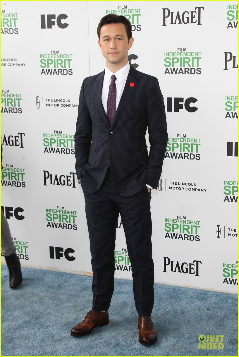 joseph gordon levitt michael sheen man power at independent spirit awards 2014 033063028
