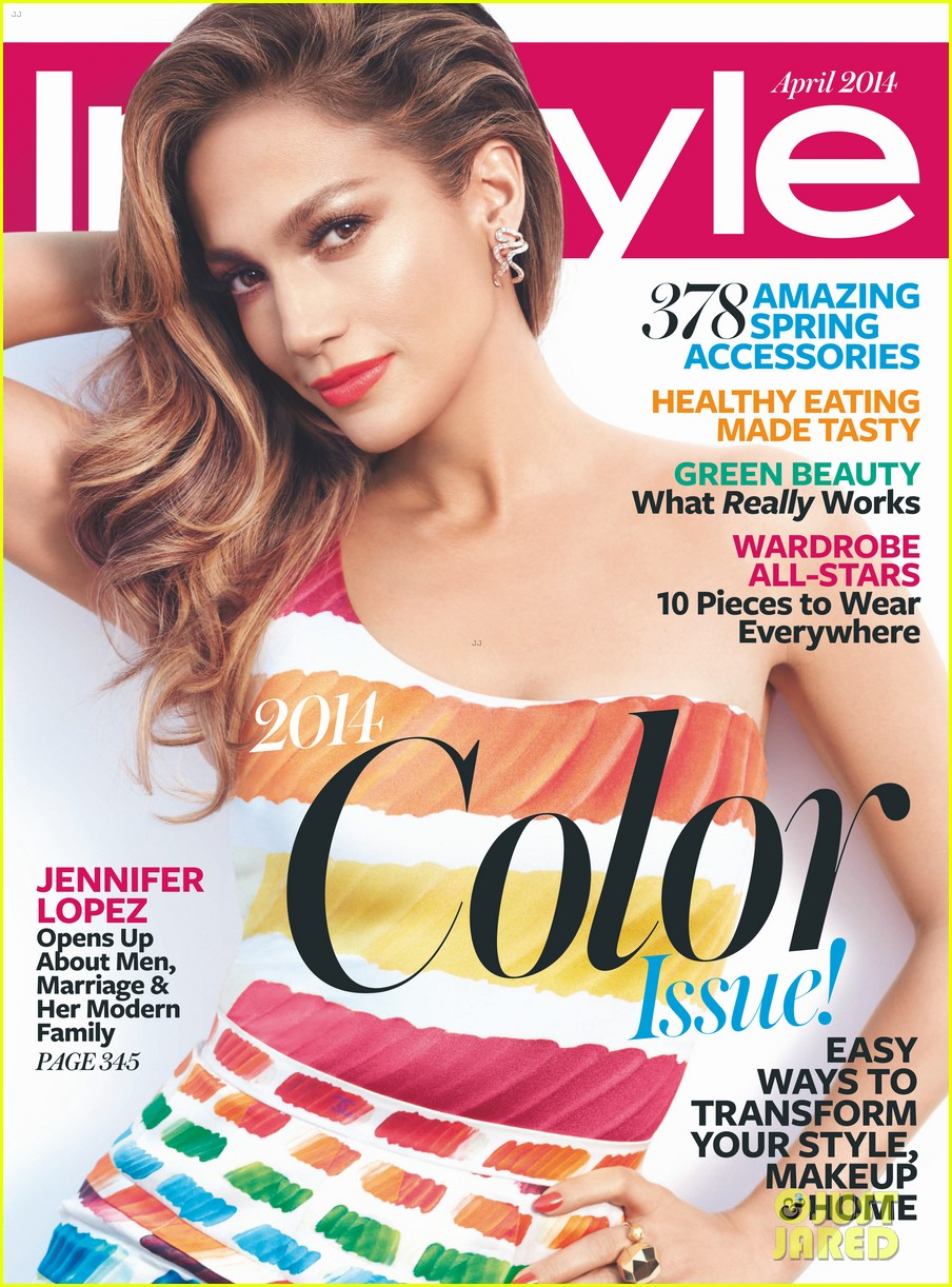 jennifer lopez instyle april 2014