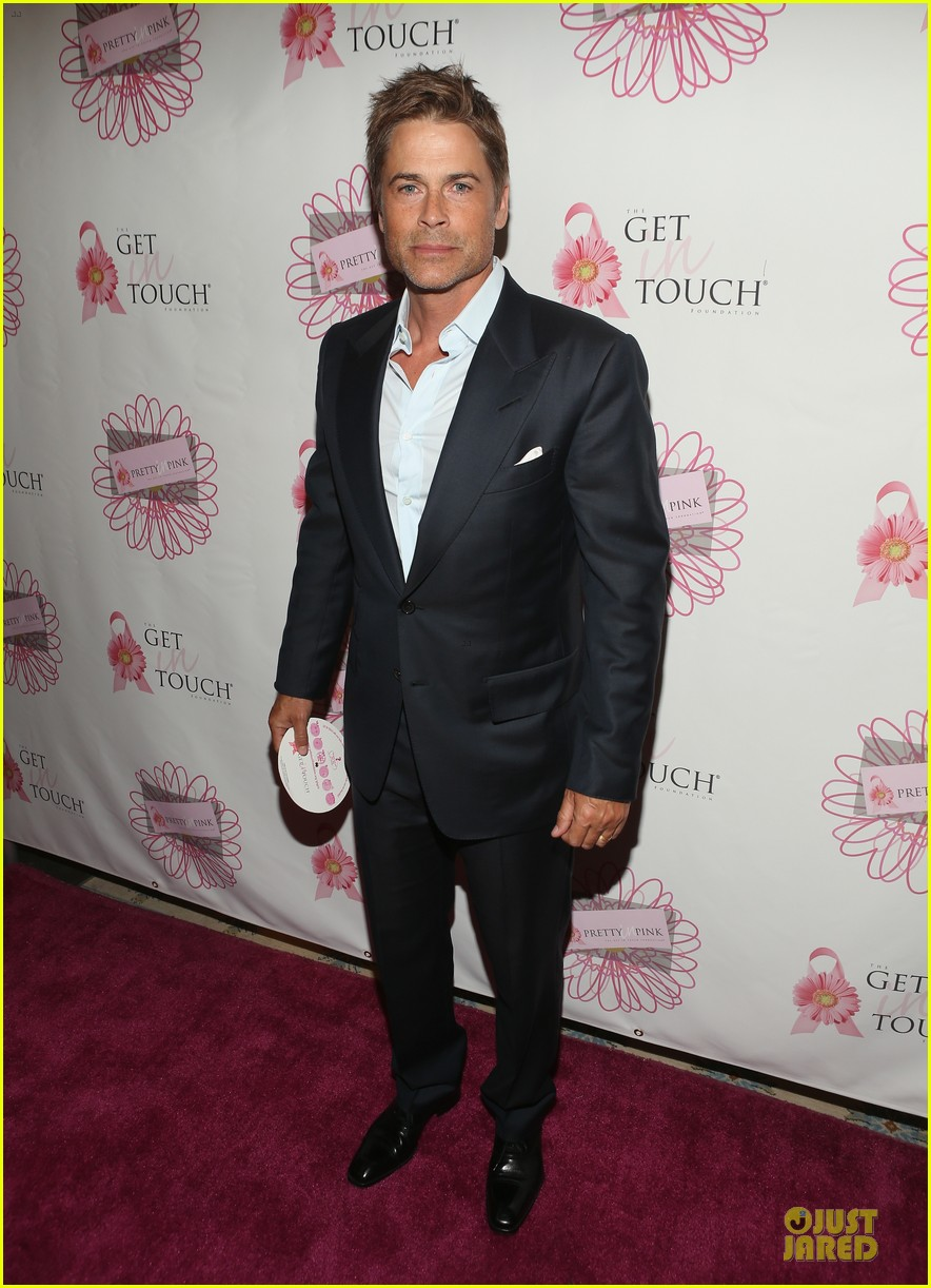 rob lowe halston sage support for pretty in pink 03