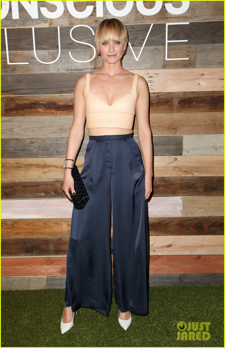 kate mara camilla belle hm conscious collection dinner 033075243