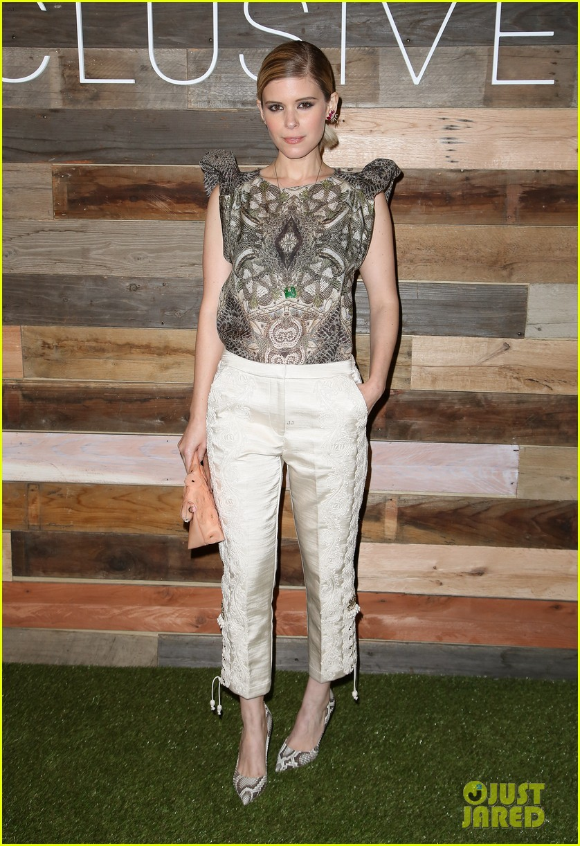 kate mara camilla belle hm conscious collection dinner 05