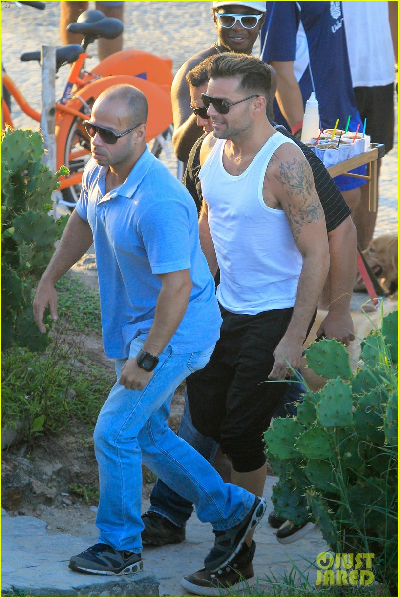 ricky martin films music video for world cup 263070336