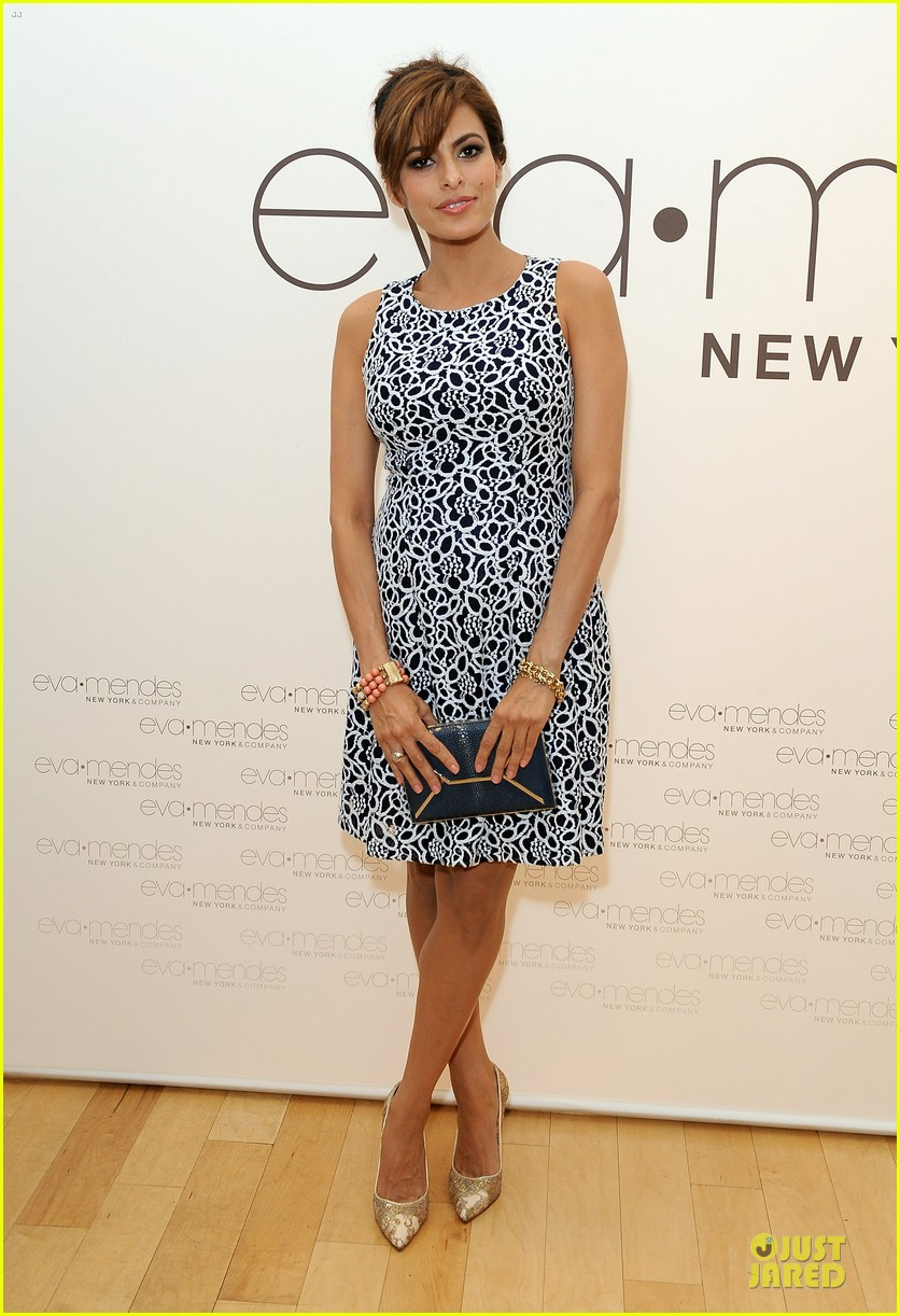 eva mendes new york company collection launch 05