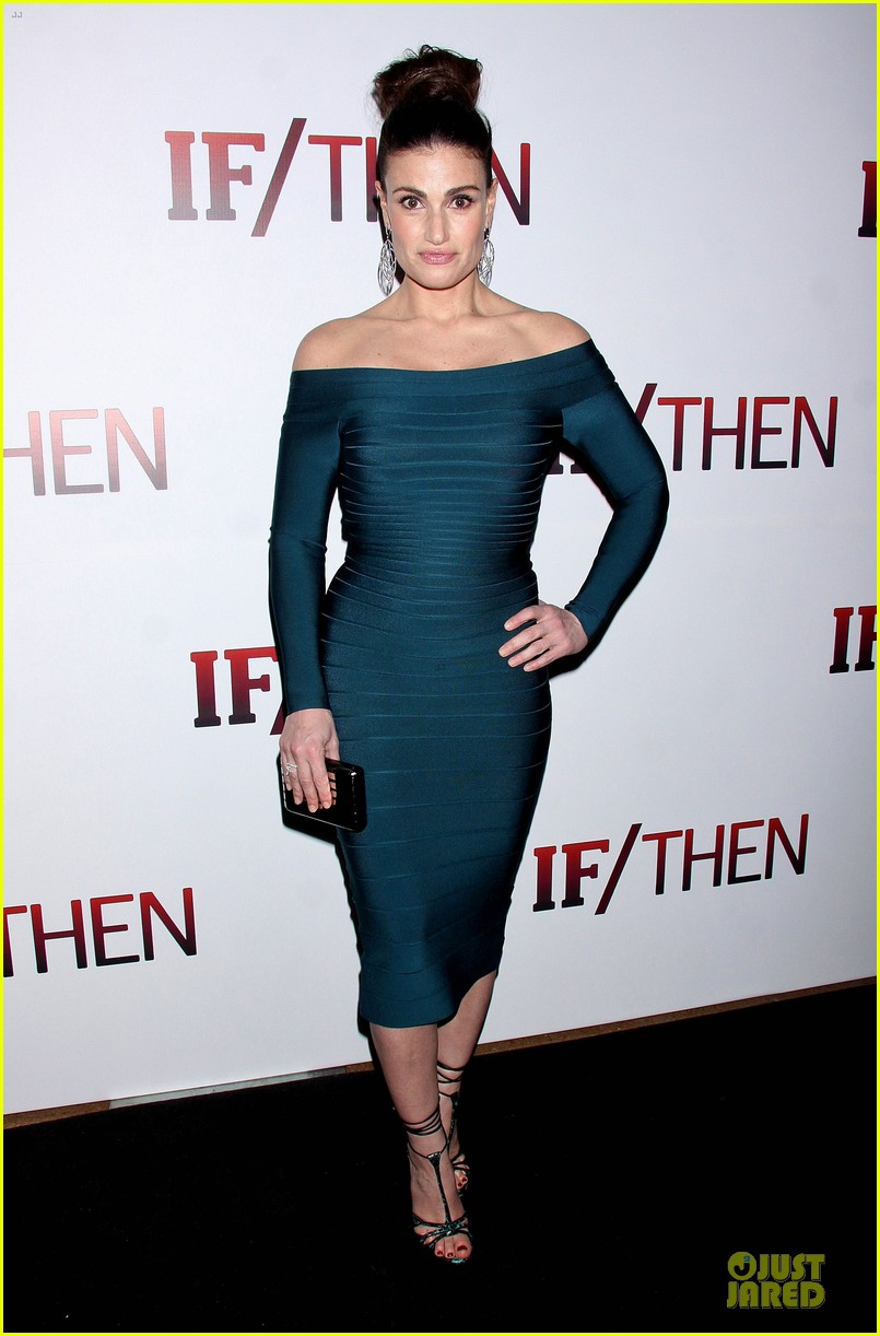 idina menzel shoulders should get you to see if then 013082012