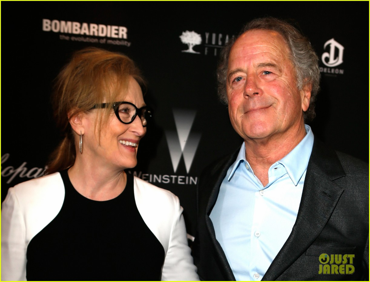meryl streep christoph waltz pre oscars party attendees 073063623