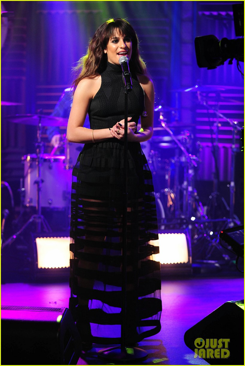 lea michele big morning buzz with nick lachey 10