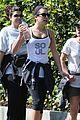 lea michele feeds soul with hike 07