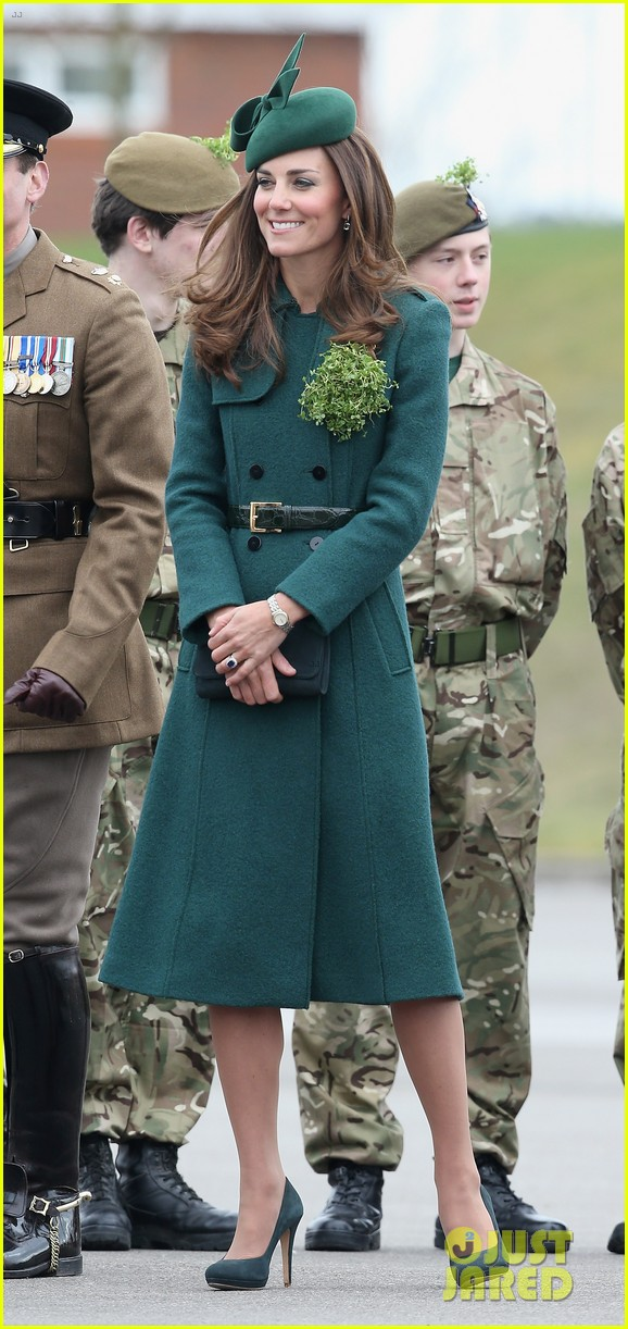 kate middleton prince william st patricks day parade 013073279