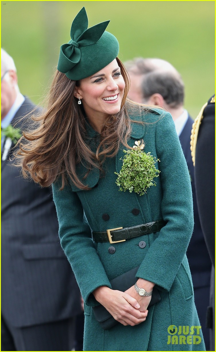 kate middleton prince william st patricks day parade 04