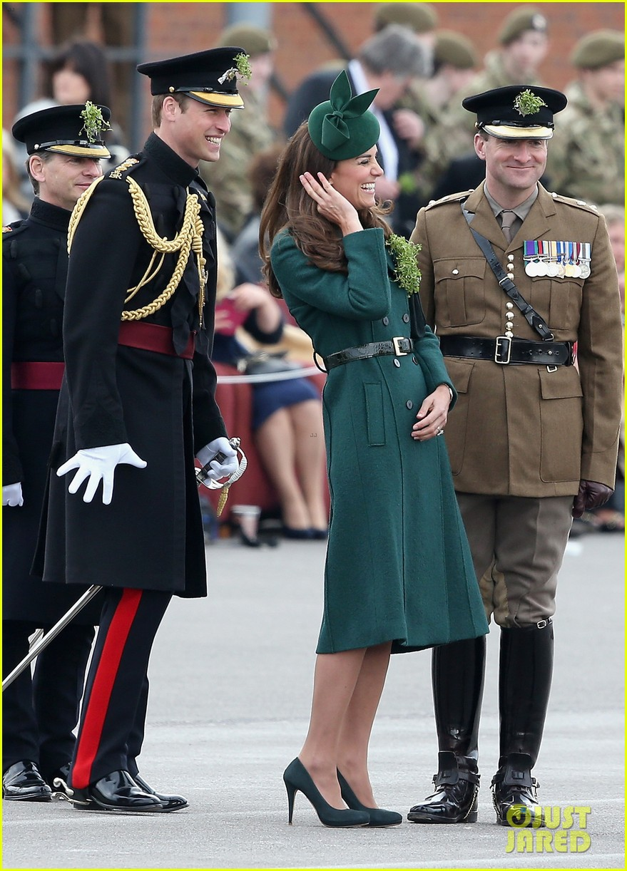 kate middleton prince william st patricks day parade 05