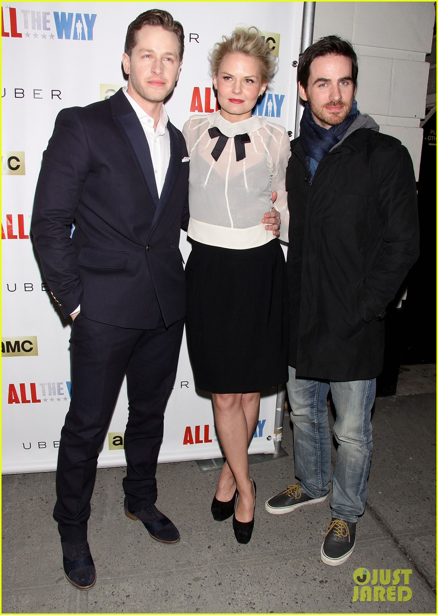 jennifer morrison josh dallas go all the way to broadway 013067515