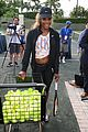 novak djokovich williams sisters play tennis for charity 11