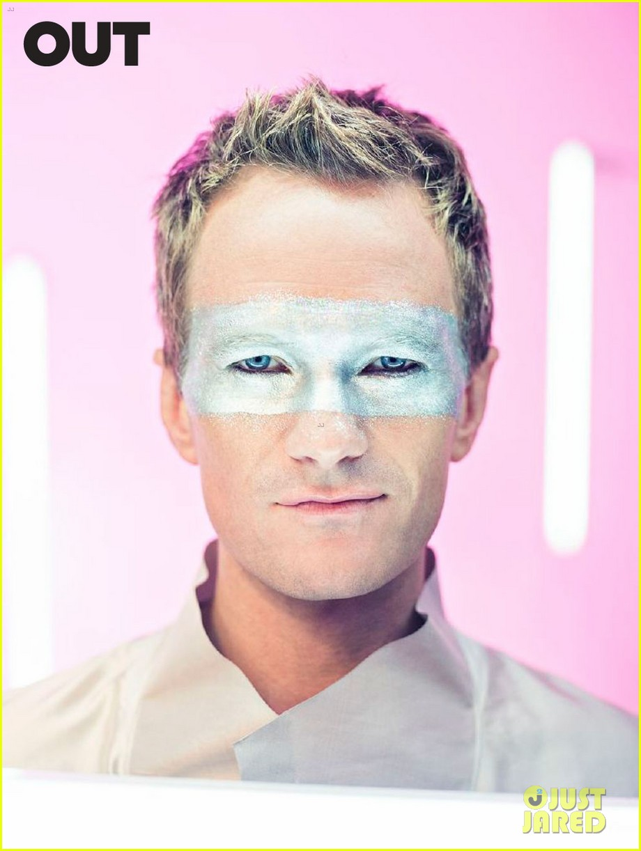 neil patrick harris shirtless glitter out 01