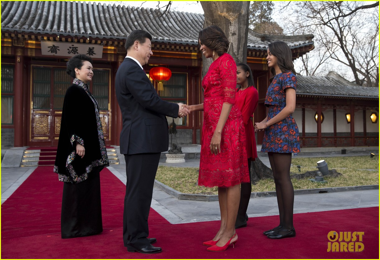 michelle obama travels around china three days of photos 14
