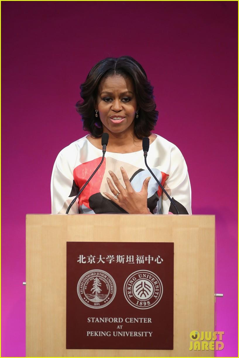 michelle obama travels around china three days of photos 17