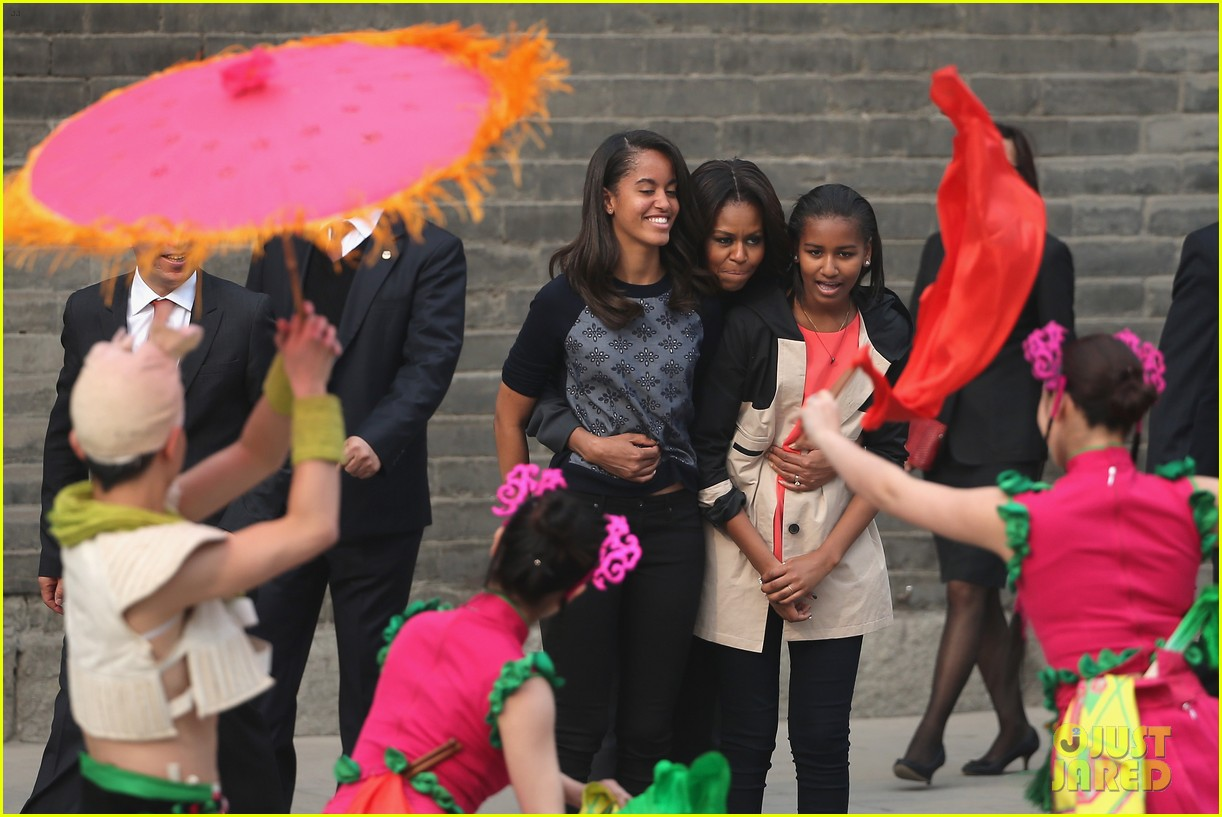 michelle obama jumps rope in china 103077929
