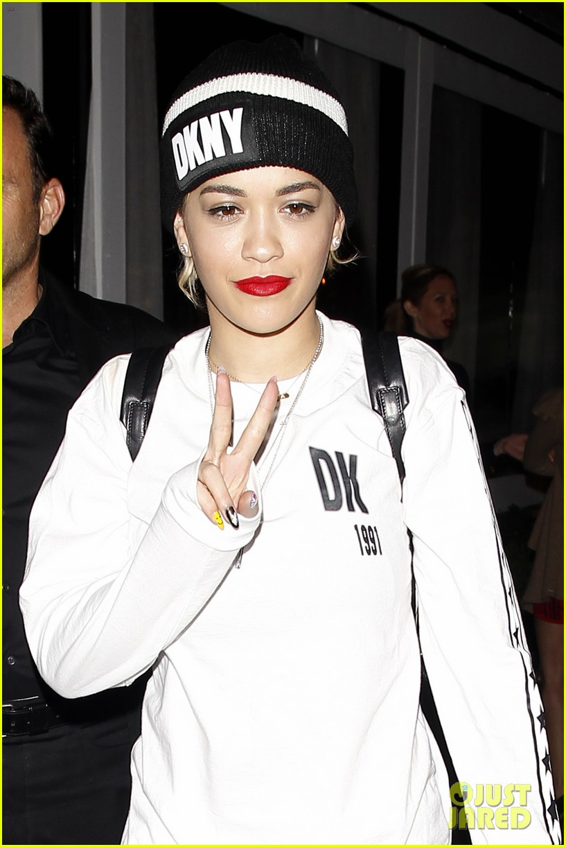 rita ora sends well wishes to super fan with cancer 09