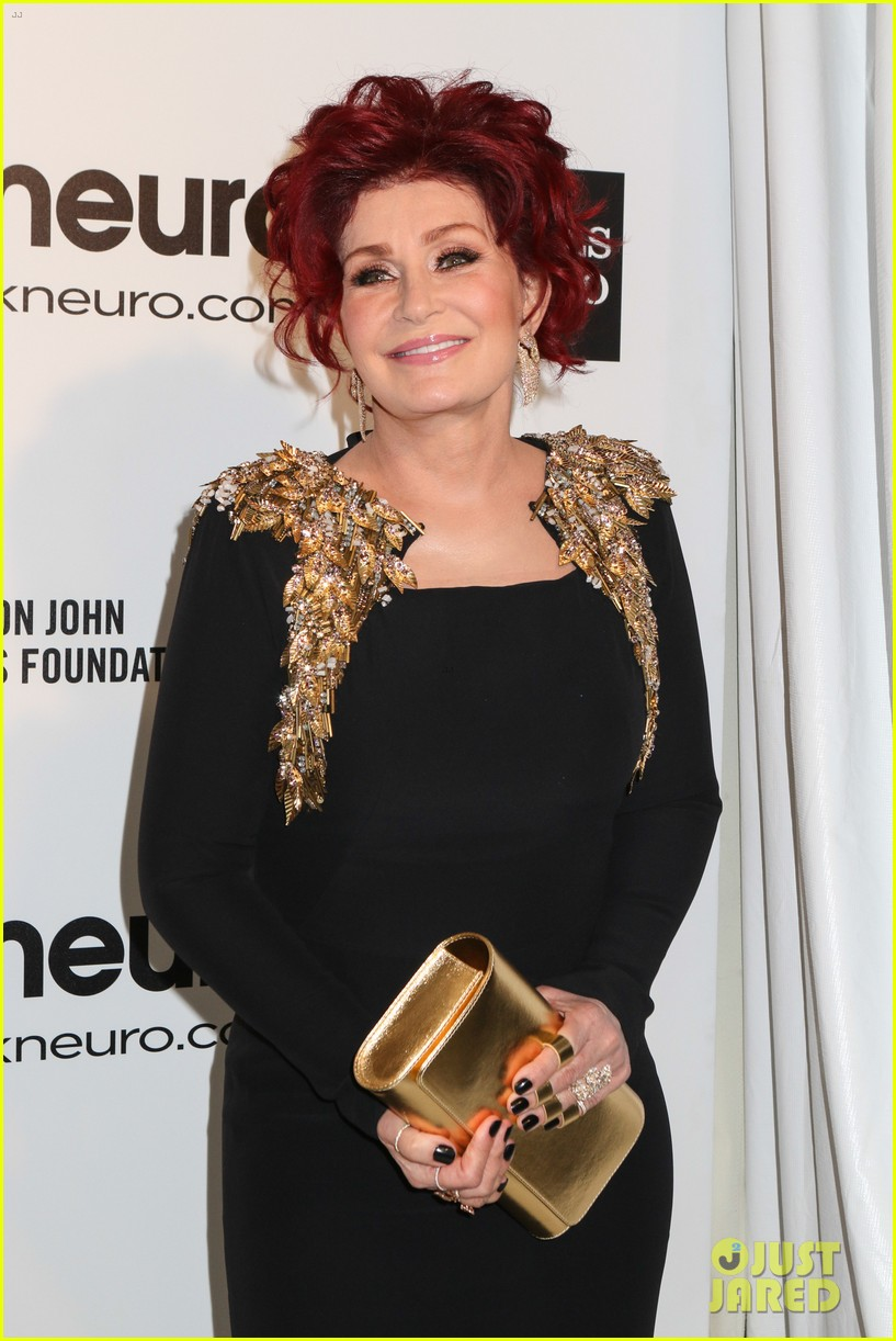 kelly osbourne elton john oscars party 2014 with mom dad 113064456