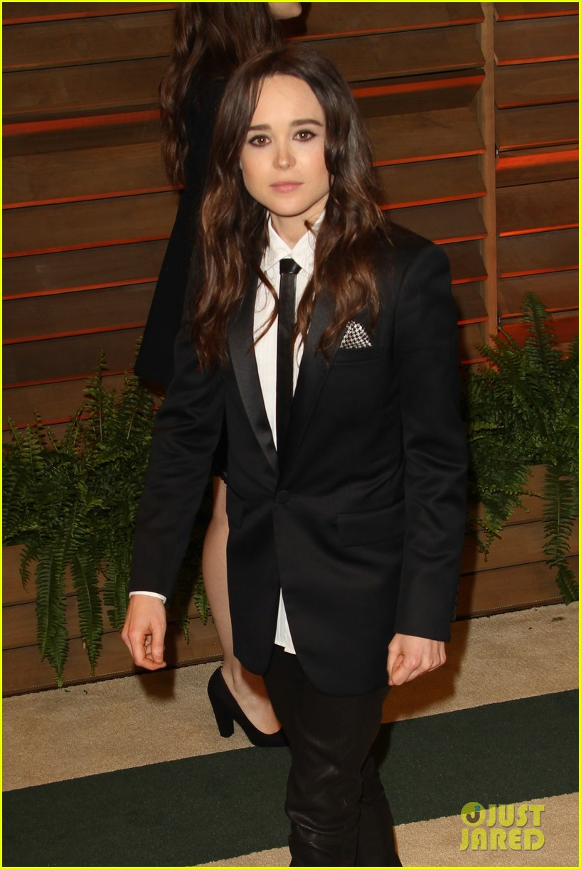 ellen page jena malone vanity fair oscars party 2014 02