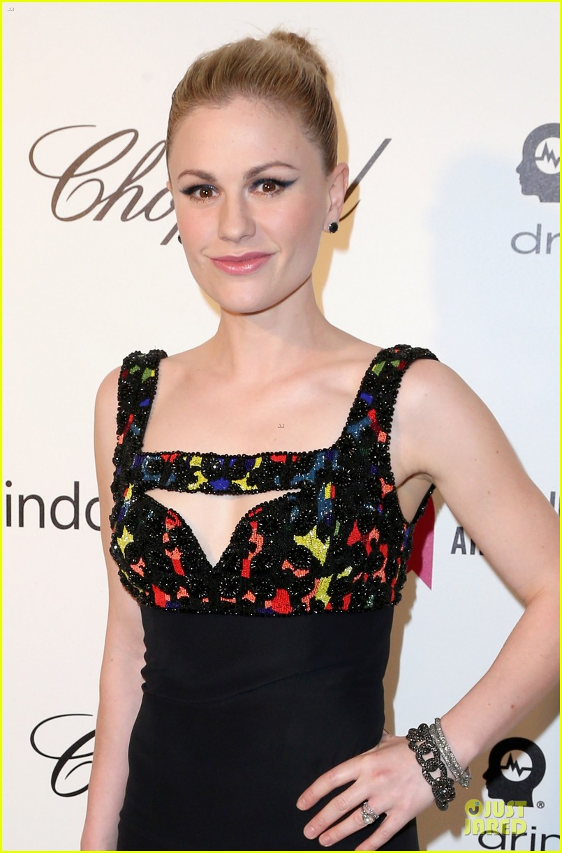 anna paquin stephen moyer elton john oscars party 2014 04