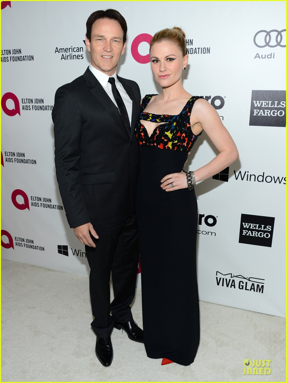 anna paquin stephen moyer elton john oscars party 2014 05