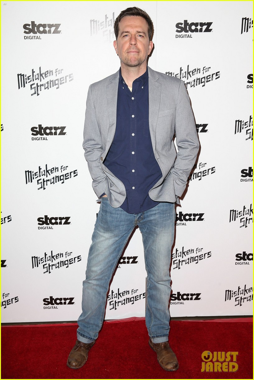 busy philipps darren criss step out for mistaken for strangers screening 013078761