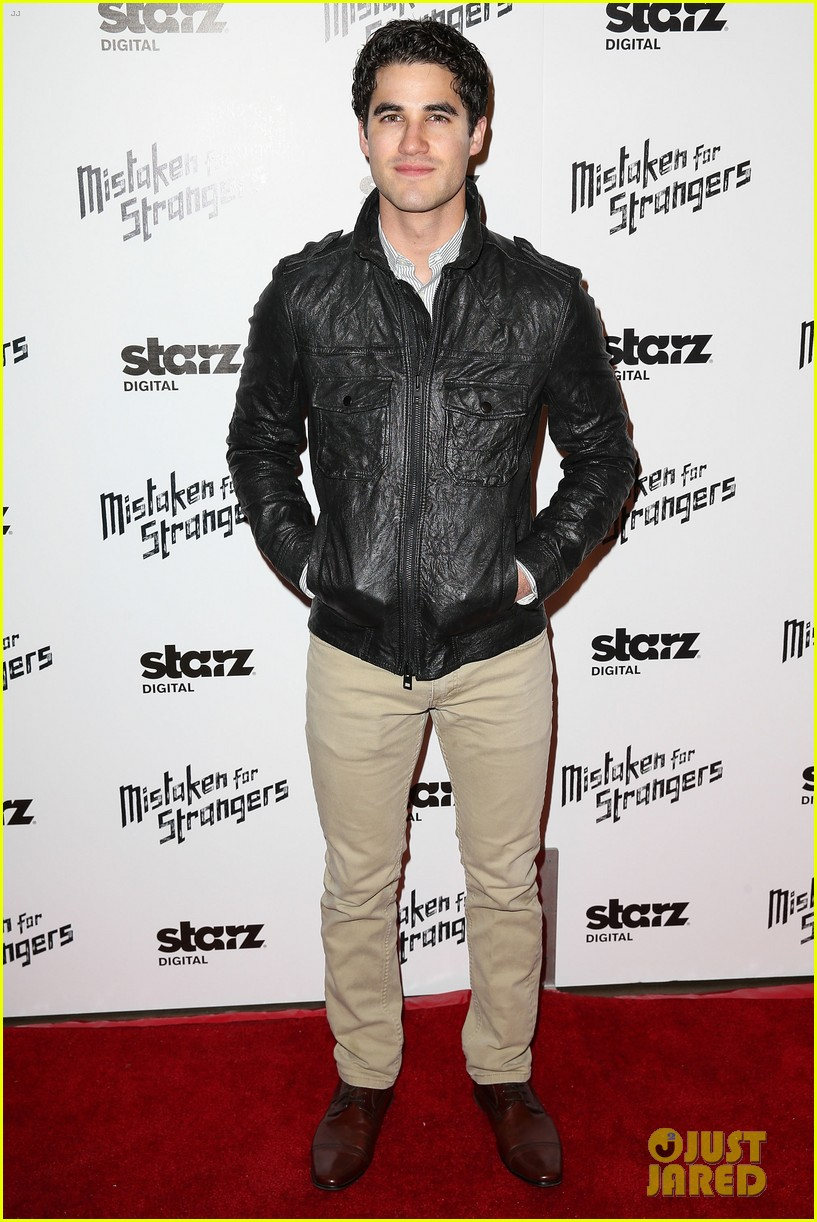 busy philipps darren criss step out for mistaken for strangers screening 173078777