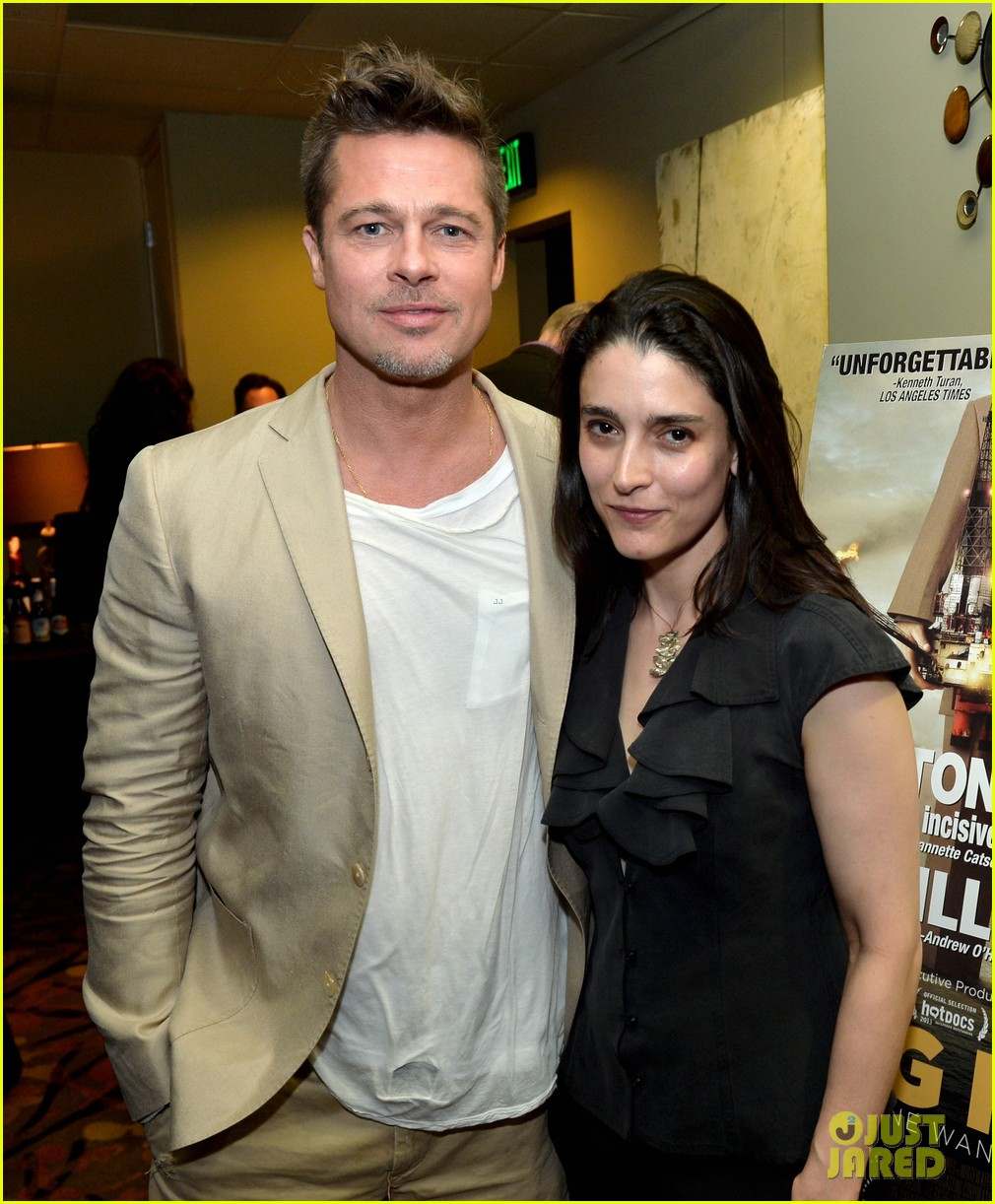 brad pitt big men documentary screening 22