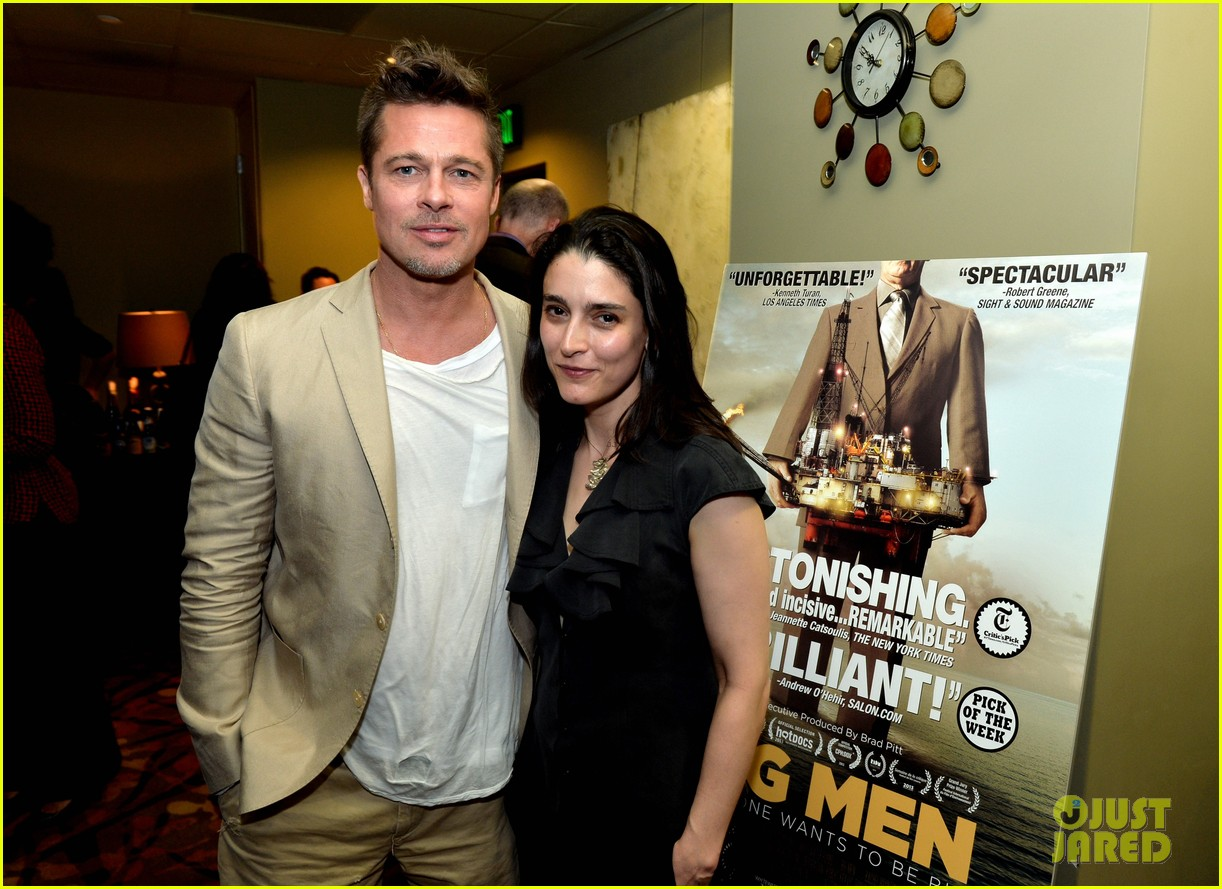 brad pitt big men documentary screening 26