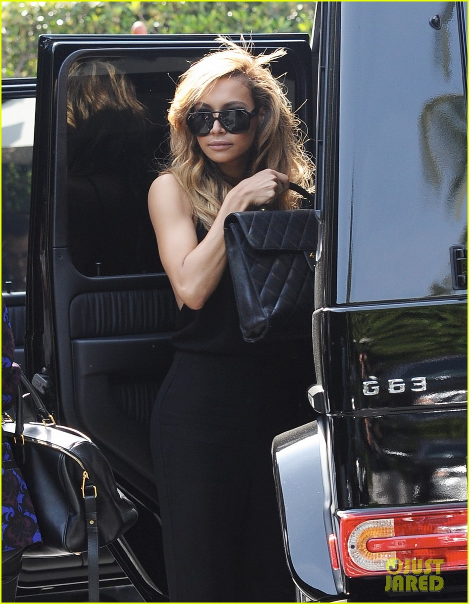 naya rivera ever so sexy in her black jumpsuit 04