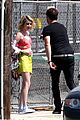 emma roberts looks funky for elle canada shoot evan peters rocks short new haircut 11