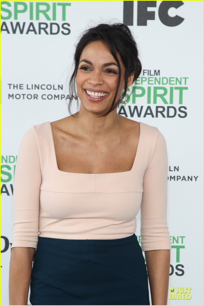rosario dawson stunning presenters at independent spirit awards 2014 093063078