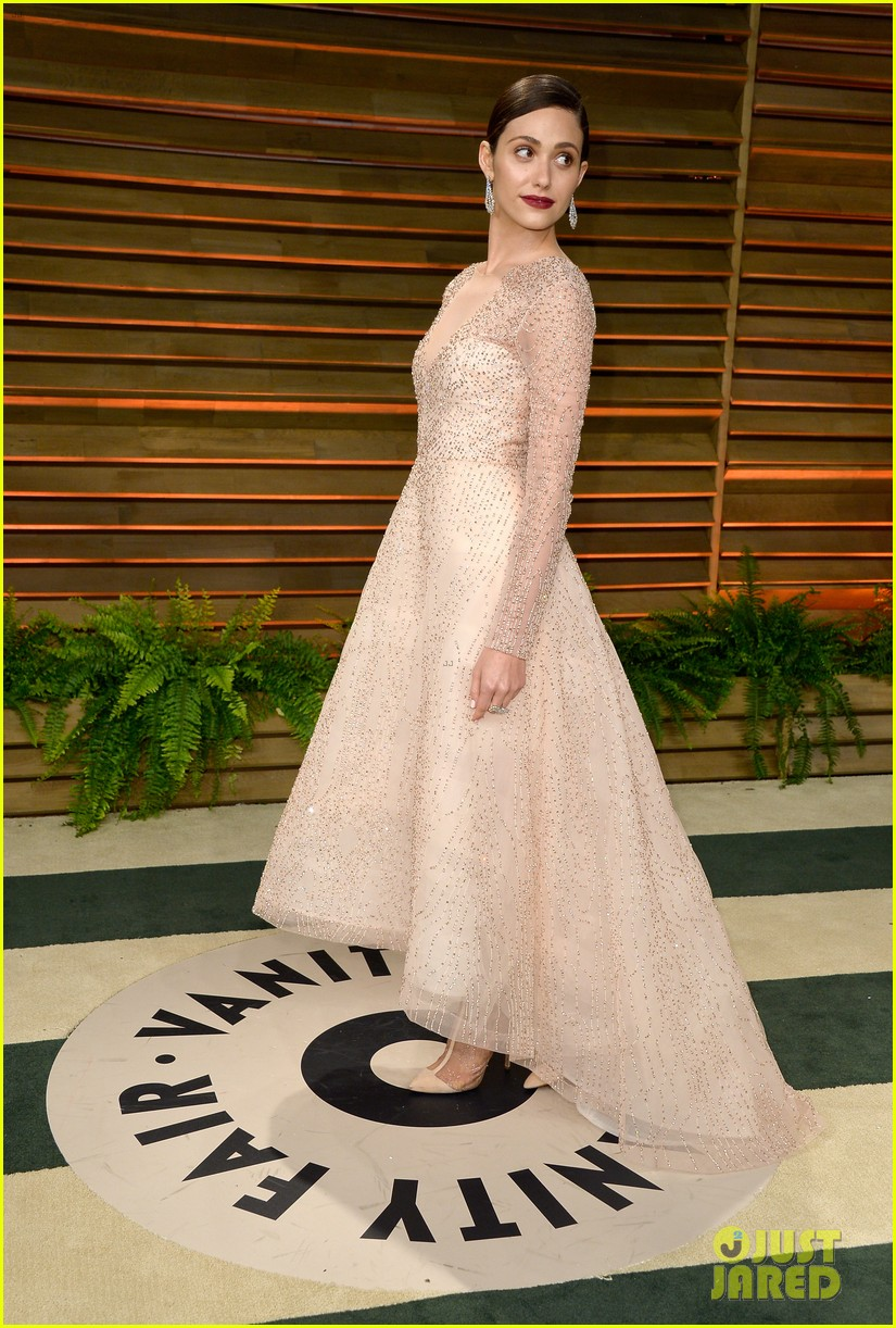 emmy rossum vanity fair oscars party 2014 053064621
