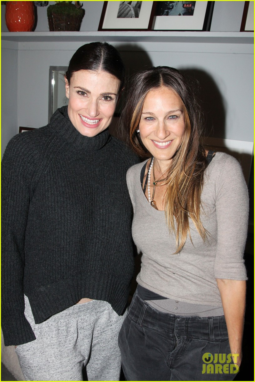 sarah jesssica parker idina menzel if then broadway 043080012