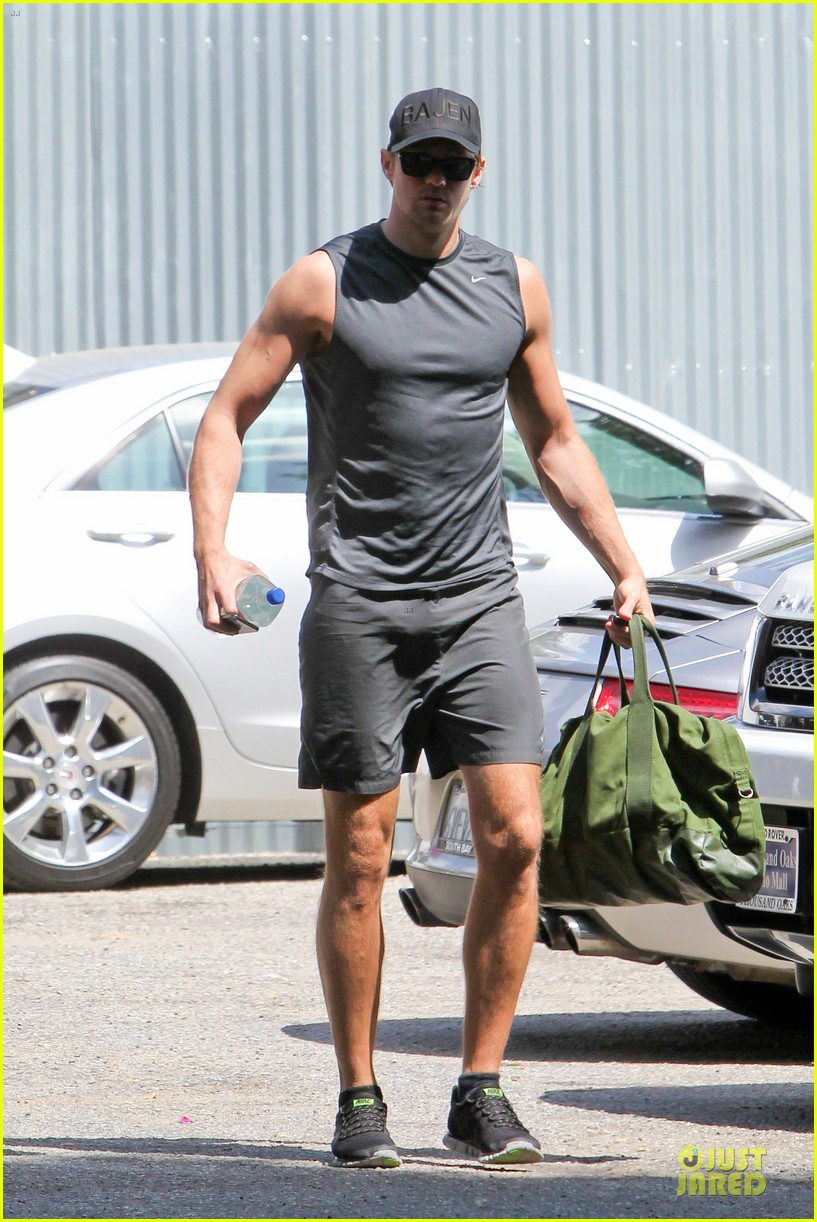 alexander skarsgard toned ready gym workout 163082456