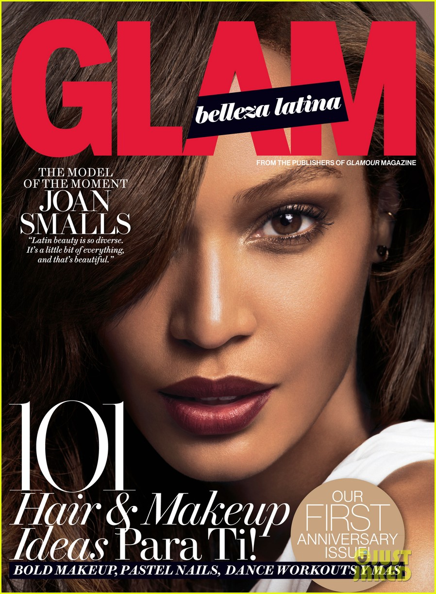 joan smalls covers glam belliza latina magazine 01
