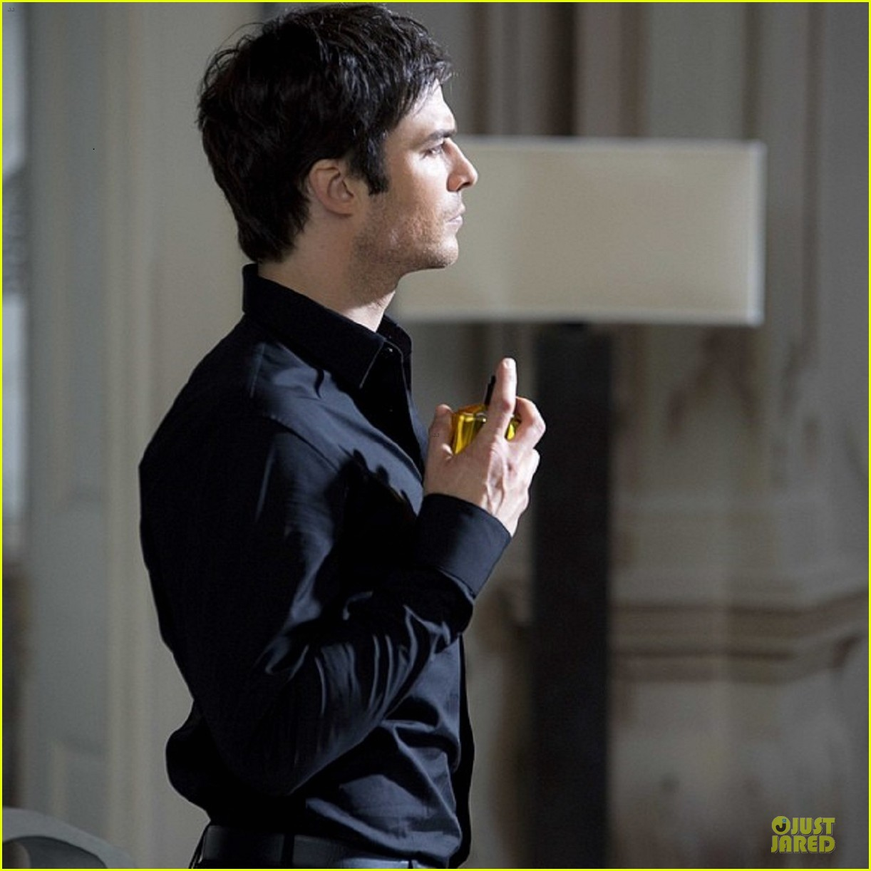 ian somerhalder seducing with azzaro pour homme 023078675