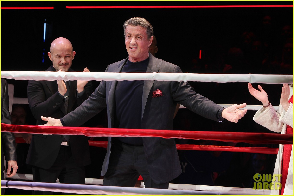 sylvester stallone knocks out broadways rocky 14