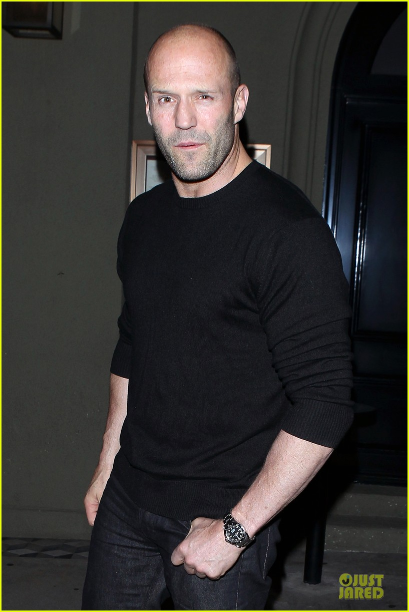 jason statham sylvester stallone dinner at craigs 06
