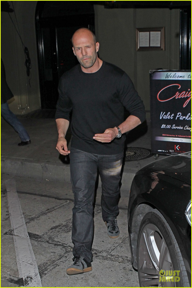 jason statham sylvester stallone dinner at craigs 163070121