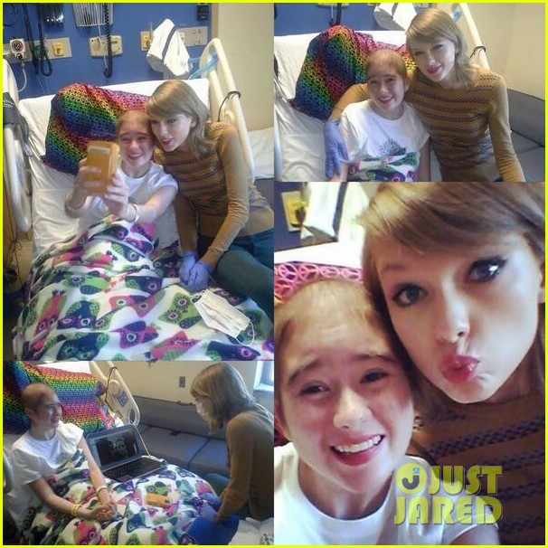 taylor swift childrens hospital visit 063077792