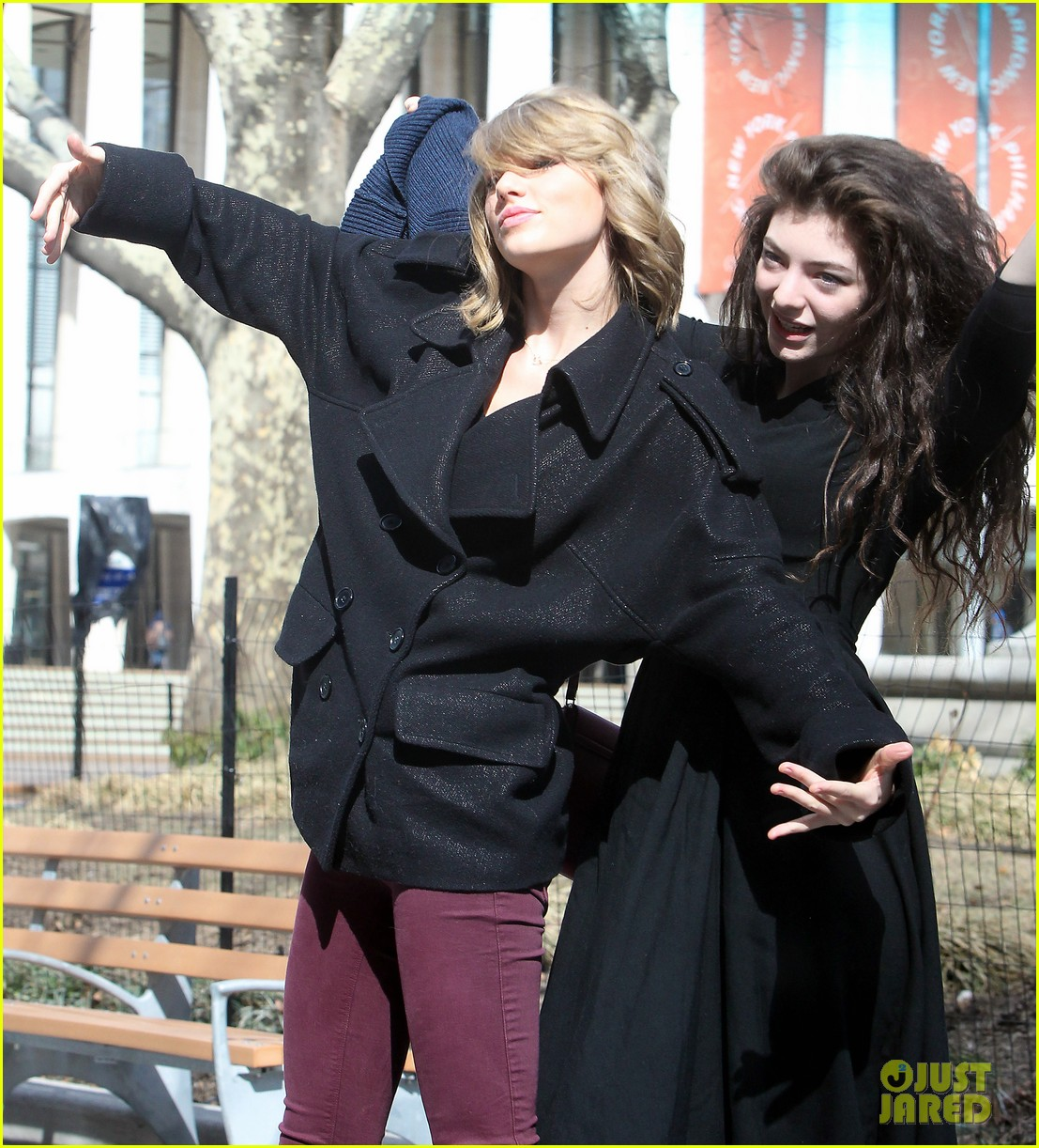 taylor swift lorde get silly in nyc 093068867