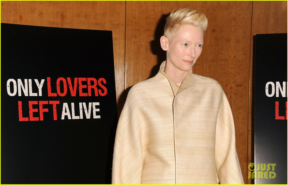 tilda swinton anton yelchin only lovers left alive screening 033069766
