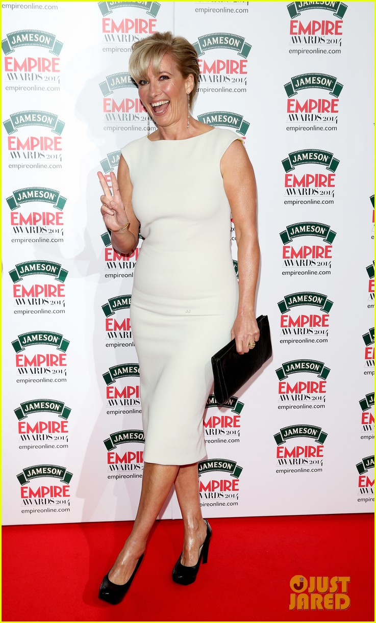emma thompson goes for the gold at jameson empire awards 2014 01